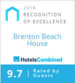 Brenton Beach House, HotelsCombinded Certificate of Excellence